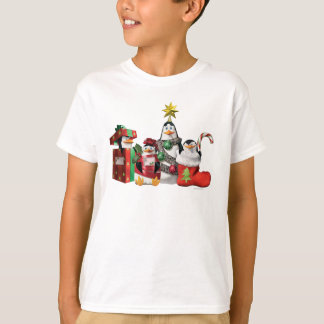 Festive Penguins T-Shirt