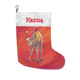 Festive Personalized Camel Christmas