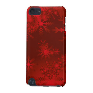 Festive red Christmas Case iPod Touch 5G Cover