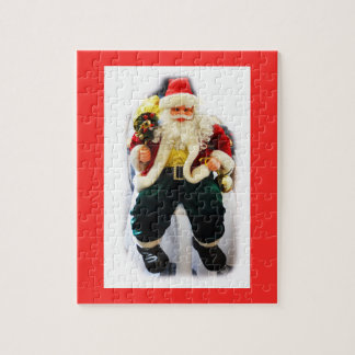 Festive Santa Jigsaw Puzzle