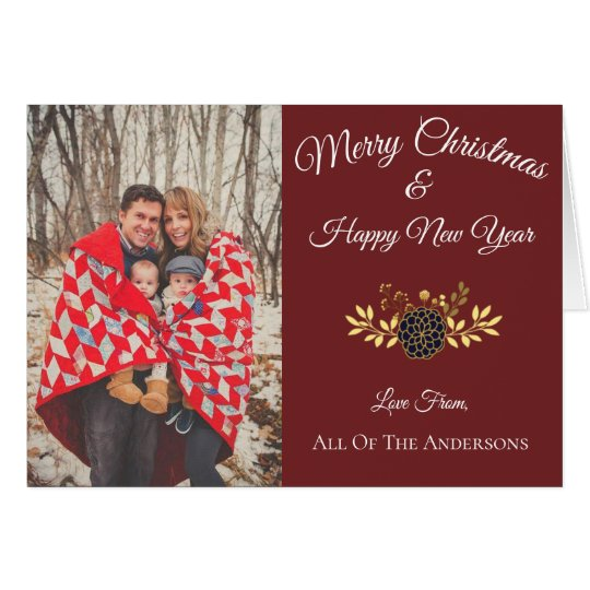 Festive Seasons card | Custom Photo Cards