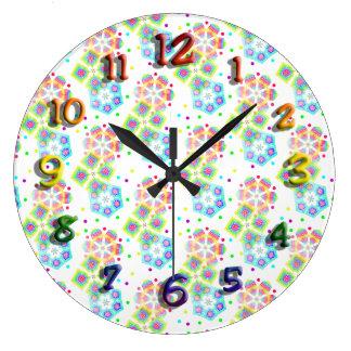 Festive Snowflakes - Customisable Clocks
