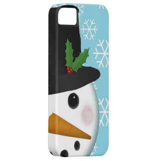 Festive Snowman Holiday Case-Mate for iPhone 5