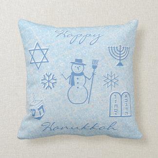 Festive Sparkle HANUKKAH Cushion