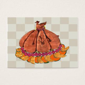 Festive Thanksgiving Placecard