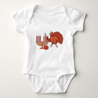 Festive 'Thanksgivukkah' Baby Bodysuit