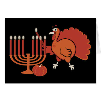 Festive 'Thanksgivukkah' Greeting Card
