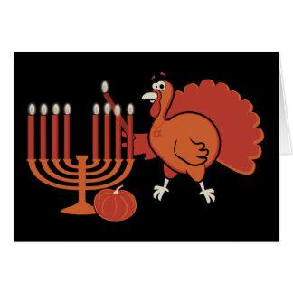Festive Thanksgivukkah Greeting Card