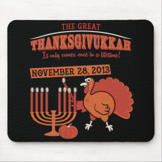 Festive 'Thanksgivukkah' Mouse Mat