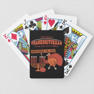 Festive 'Thanksgivukkah' Poker Deck