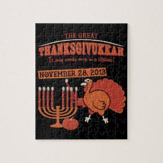 Festive 'Thanksgivukkah' Puzzles