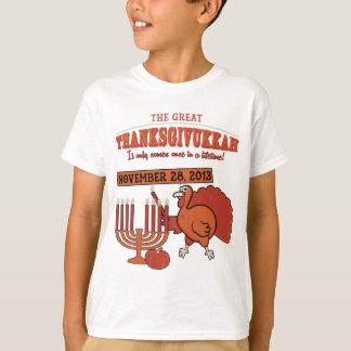 Festive 'Thanksgivukkah' T-Shirt