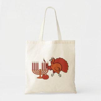 Festive 'Thanksgivukkah' Tote Bag