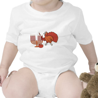 Festive Thanksgivukkah Baby Bodysuit