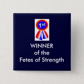 festivus 15 cm square badge
