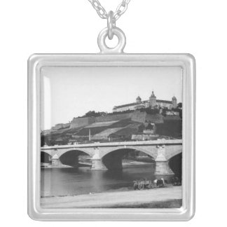 Festung Marienberg Fortress Silver Plated Necklace
