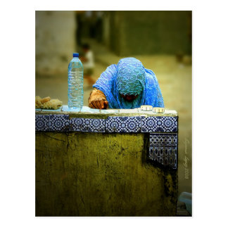 Fetching Water Post Cards