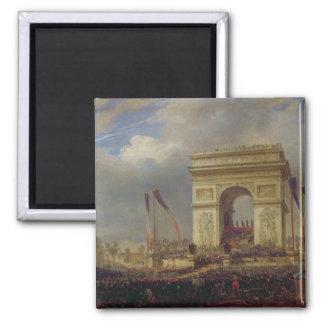 Fete de la Fraternite at the Arc de Triomphe Square Magnet