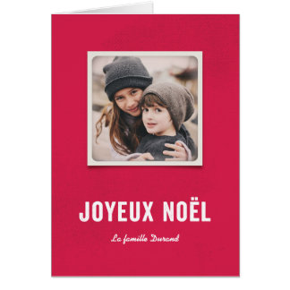 Fête de Noël Greeting Card