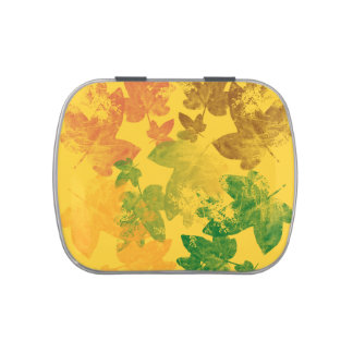 feuille d'automne jelly belly tin