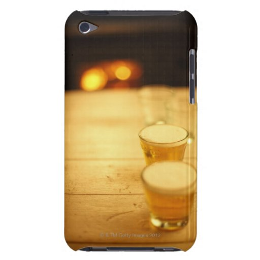 Few glasses of beer iPod touch case