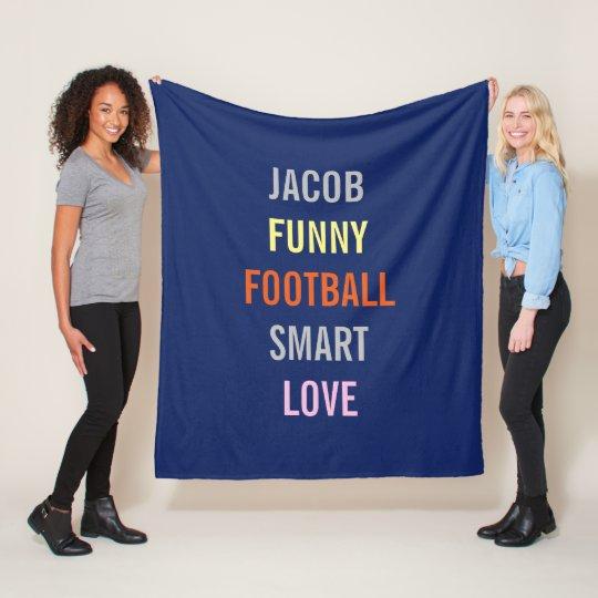Few Of My Favourite Things Personal Fleece Blanket