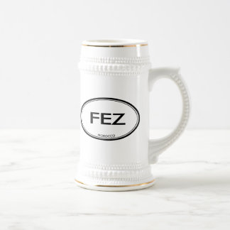 Fez, Morocco Beer Stein