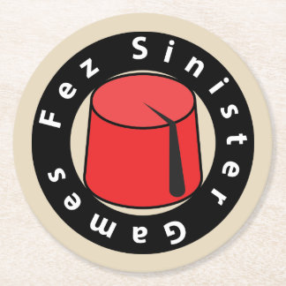 Fez Sinister Games coaster