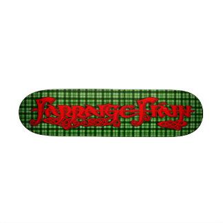 FF Graffitti Logo Tartan Custom Skate Board