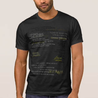 FF Quotes  if you're not outraged... DESTROYED T-Shirt