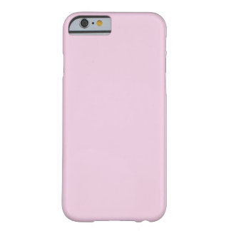 FFCCFF Pale Lilac Pink Lavender Solid Color Barely There iPhone 6 Case
