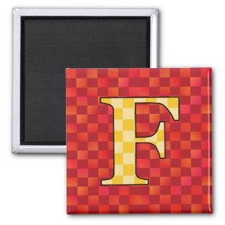 FFF SQUARE MAGNET