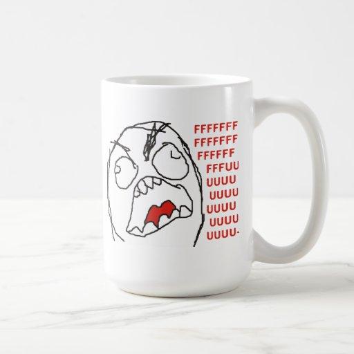 FFFFFFFUUUUUU - Rage! Coffee Mugs