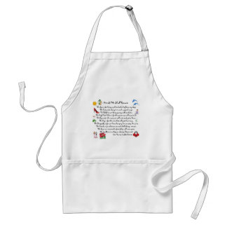 fFriends We Shall Remain Acessories Adult Apron