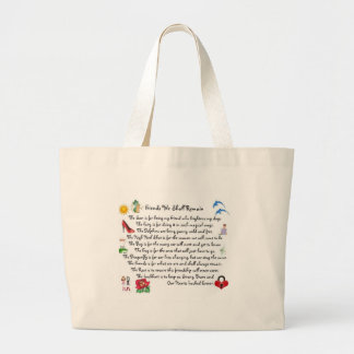 fFriends We Shall Remain Acessories Jumbo Tote Bag