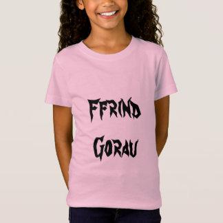 Ffrind Gorau, Best Friend in Welsh T-Shirt
