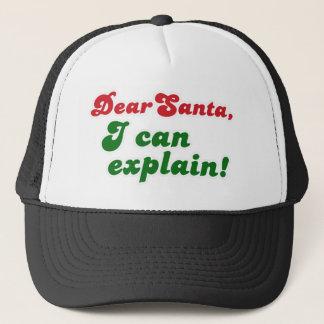 FGD - Dear Santa, I can explain Trucker Hat