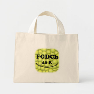 FGDCh 40K, Flyball Master Champion 40K Tiny Tote Bags