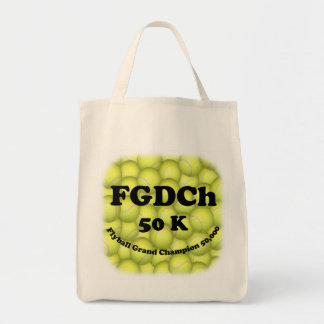 FGDCh 50K Flyball Master Champion 50K Grocery Tote Grocery Tote Bag