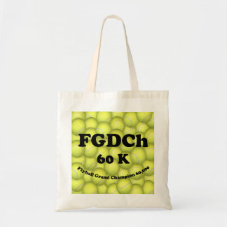 FGDCh 60K, Flyball Master Champion 60K Budget Tote Bags
