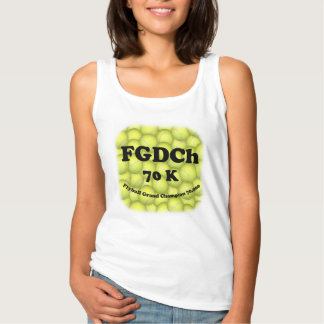FGDCh 70 K, Flyball Grand Champ, 70,000 Points Tank Top