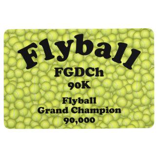 FGDCh 90 K, Flyball Grand Champ, 90,000 Points Floor Mat