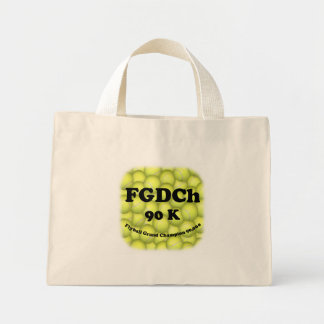 FGDCh 90 K, Flyball Grand Champ, 90,000 Points Mini Tote Bag