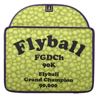 FGDCh 90 K, Flyball Grand Champ, 90,000 Points Sleeve For MacBooks