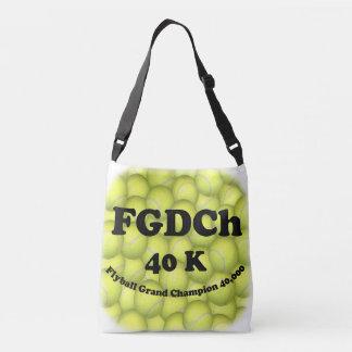 FGDCh, Flyball Grand Champ, 40,000 Points Crossbody Bag