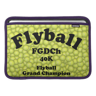 FGDCh, Flyball Grand Champ, 40,000 Points Sleeve For MacBook Air