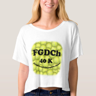FGDCh, Flyball Grand Champ, 40,000 Points T-Shirt