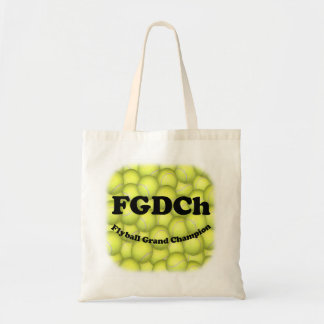 FGDCh, Flyball Grand Champion Budget Tote Budget Tote Bag