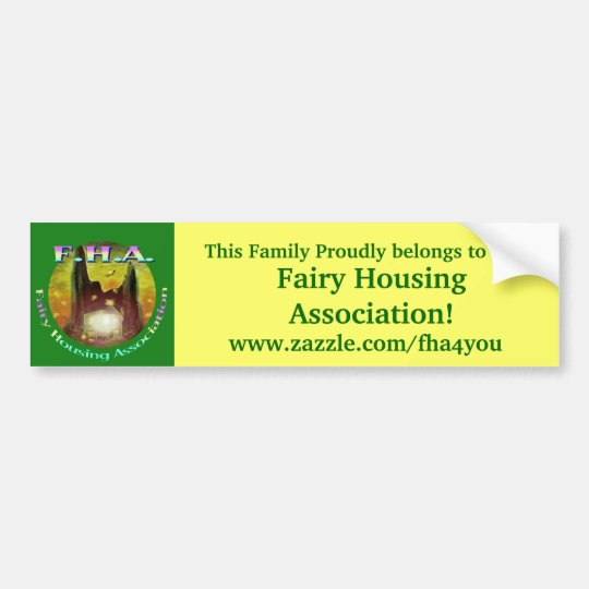 FHA Bumper Sticker
