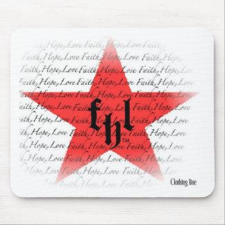 FHL (Faith, Hope & Love) All Star Logo Mouse Pad